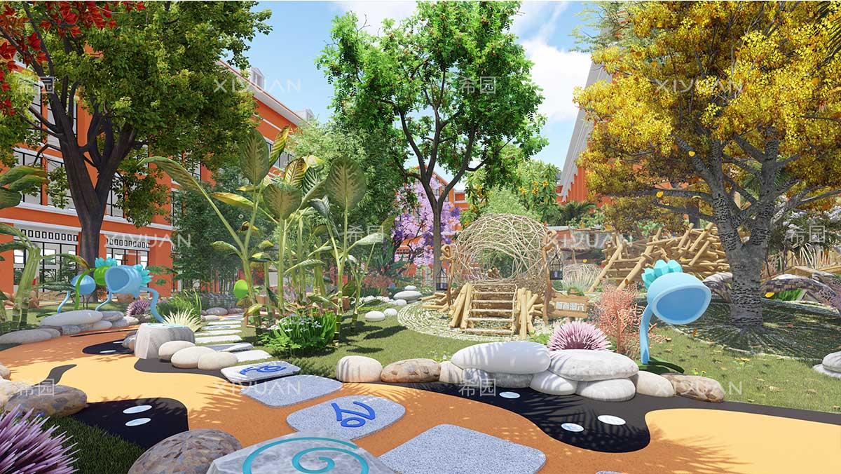 园所魔法鸟巢创意设计效果