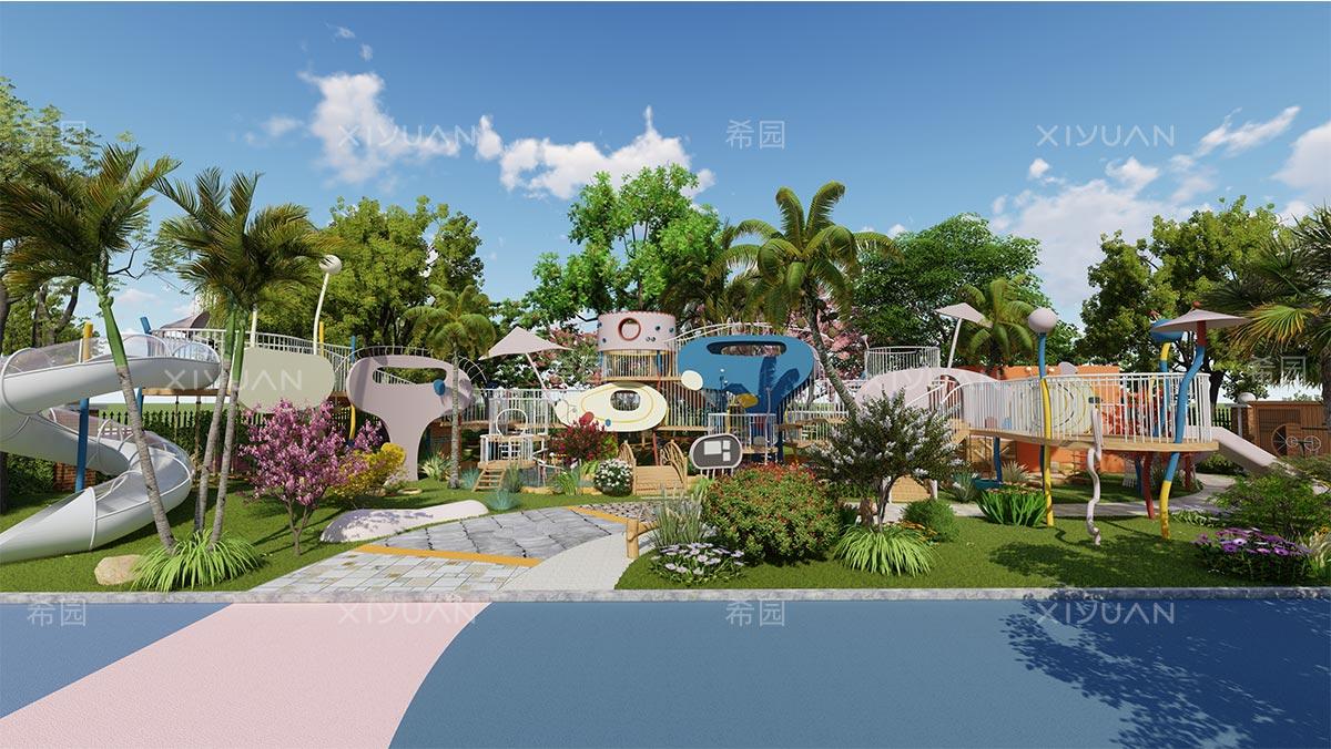 幼儿园室外环境建设